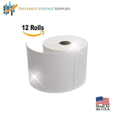 Preferred Postage Supplies Supplies Ups Shipping Labels 4X6 Top Coated Direct Thermal Rolls 250 Labels Per Roll  12 Rolls Per Box  Ups Labels