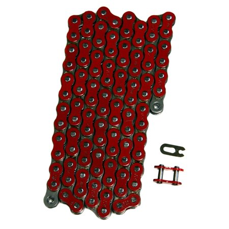 Factory Spec, FS-520-NZR, Red 520x110 Non O-Ring Drive Chain ATV Motorcycle MX 520 Pitch 110
