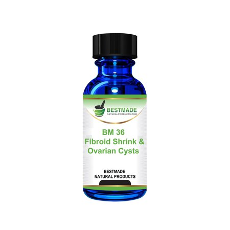 Fibroid shrink & Ovarian Cysts Natural Remedy (BM36) by BestMade - Naturally Potent Remedy Shrinks Fibroid & Cysts - Relieves Painful Frequent Menstruation & Painful (Natural Remedies For Ovarian Cysts That Actually Work)