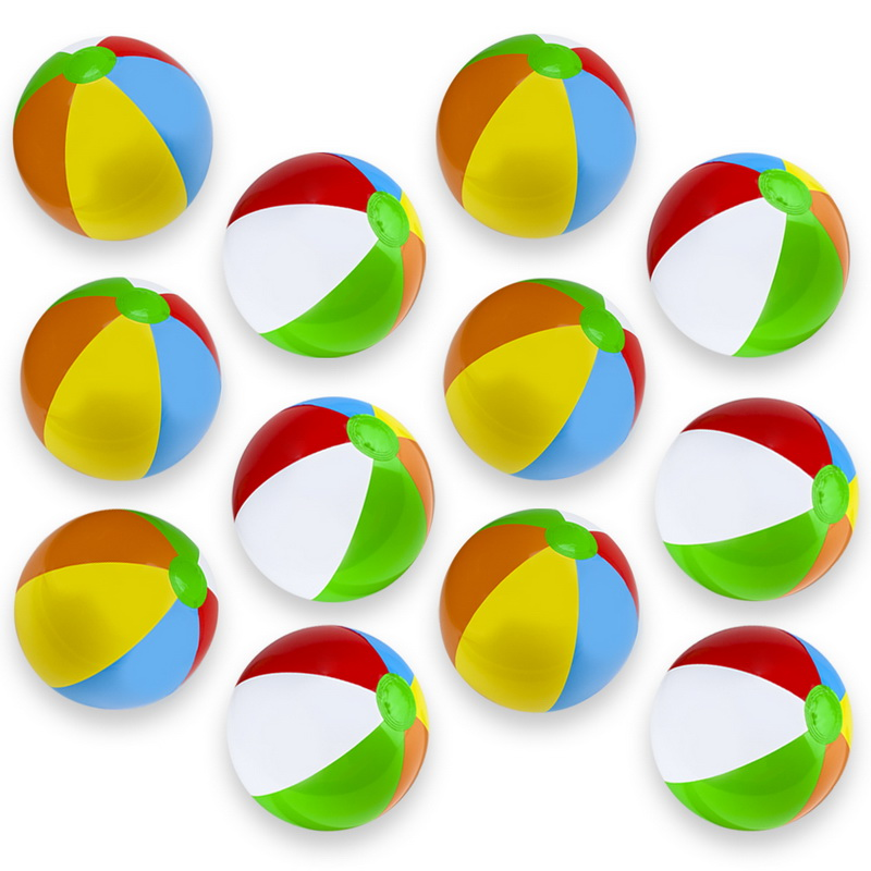 "Brybelly 12-Pack 12"" Beach Balls by BryBelly"