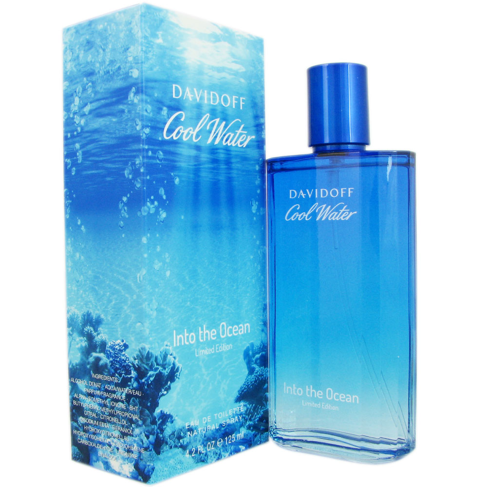Cool Water Into The Ocean Men by Davidoff 4.2 oz EDT
