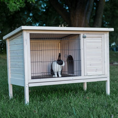 Boomer & George Elevated Outdoor Rabbit Hutch, (The Best Rabbit Hutch)