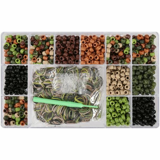 WonderLoom Beads Camo Beads-n-Links 6538 Wonder Loom