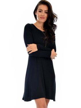 c5876061b8 Product Image Lyss Loo Shift   Shout Long Sleeve Tunic Dress