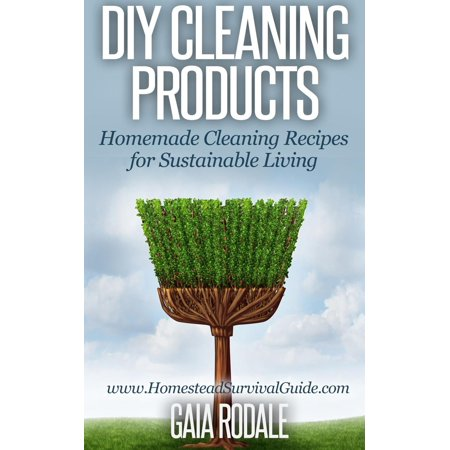 DIY Cleaning Products: Homemade Cleaning Recipes for Sustainable Living - (Sustainable Series)