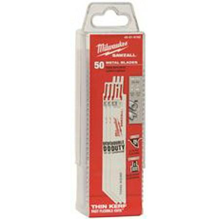 Milwaukee Thin Kerf Sawzall Blade, 6 In., 14 Tpi, 50 Per Pack ()