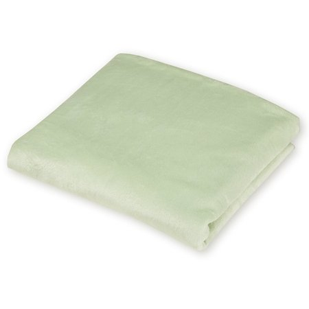 American Baby Company Heavenly Soft Chenille Fitted Mini Crib Sheet, Celery