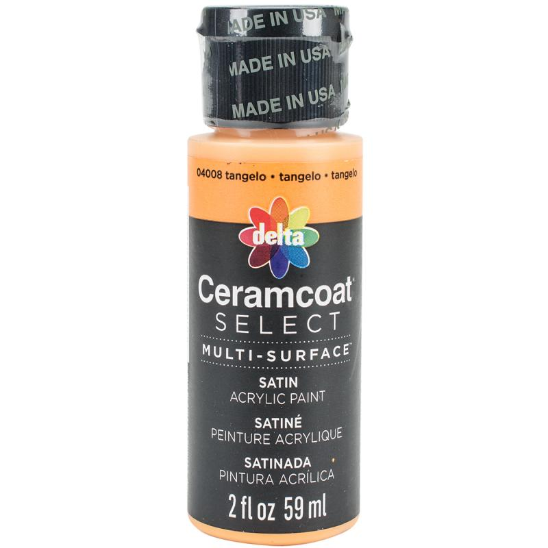Ceramcoat Select Multi-surface Paint 2oz-tangelo