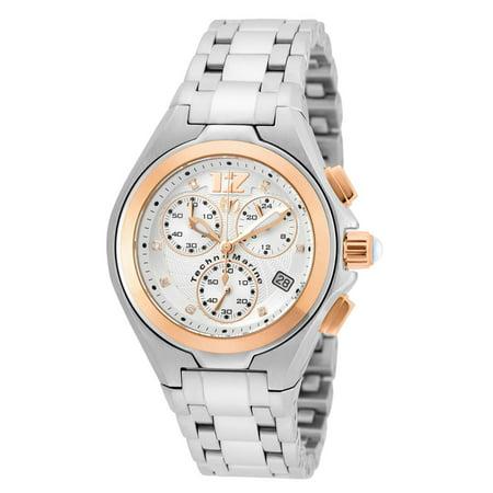 Technomarine Men's TM-215012 Manta Neo Classic Quartz Silver Dial Watch