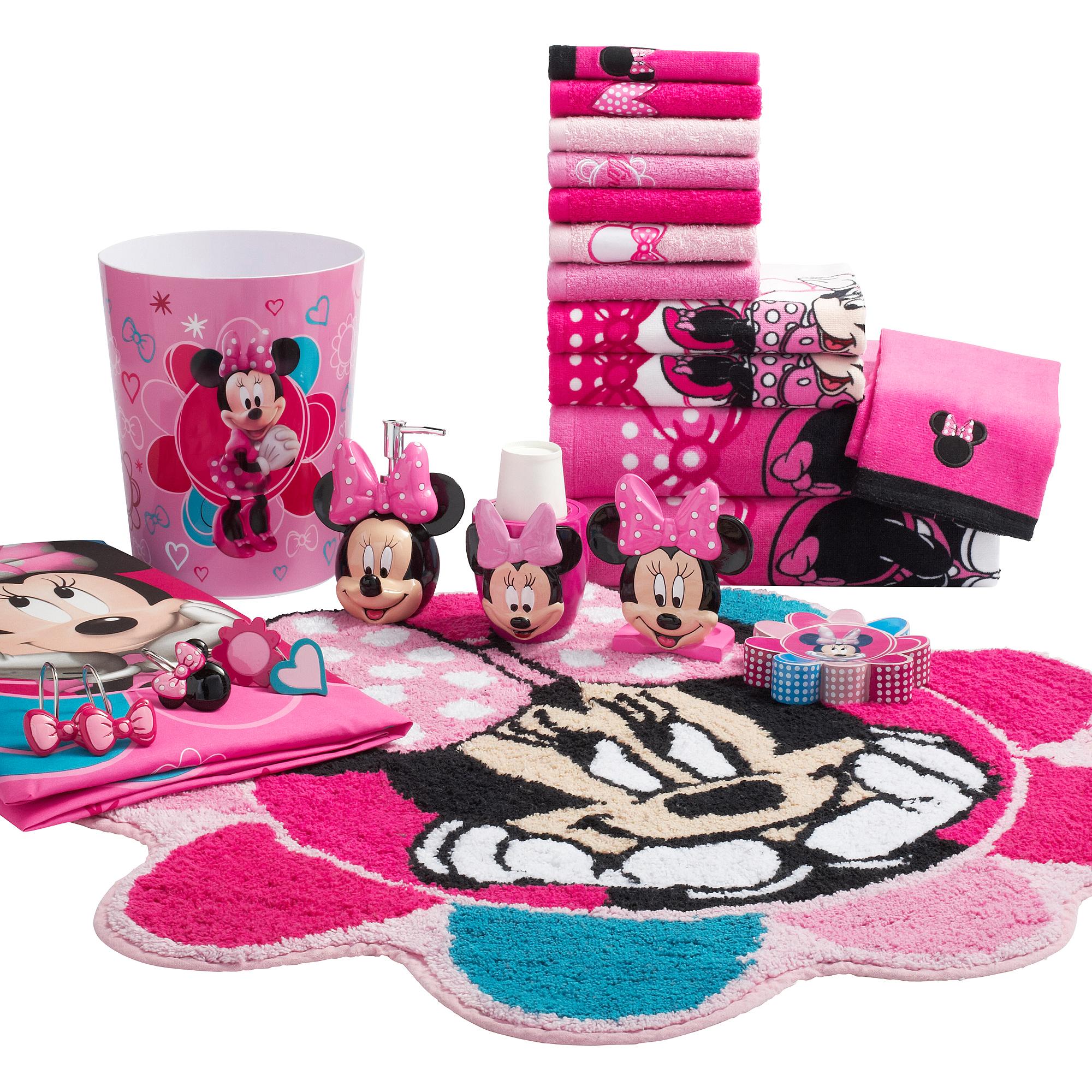 Minnie Mouse Decorative Bath Collection - Bath Rug