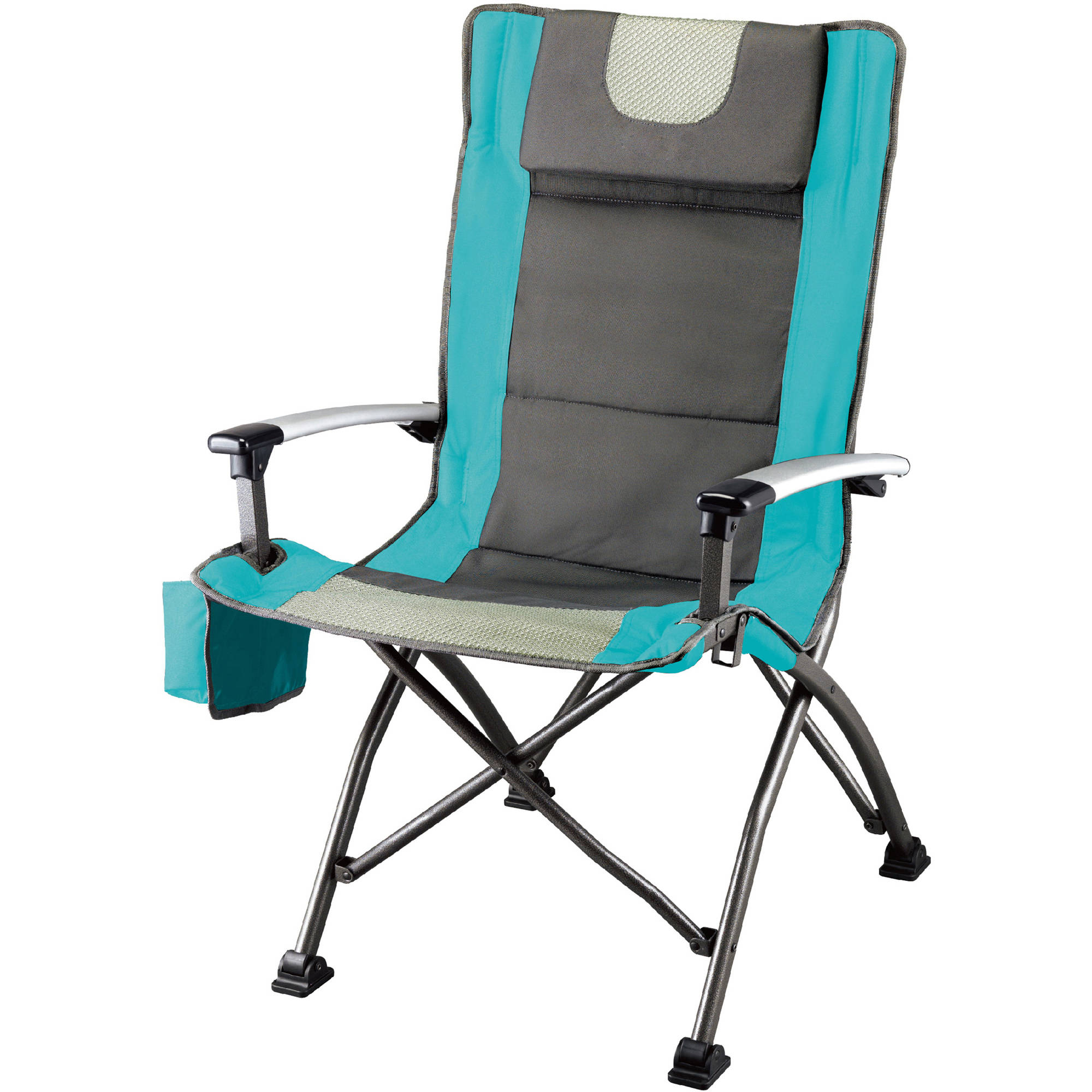 Ozark Trail Ultra High Back Folding Quad Camp Chair   Walmart.com