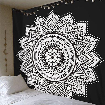 TSV Mandala Tapestry Indian Wall Hanging Decor Bohemian Hippie Queen Bedspread Throw