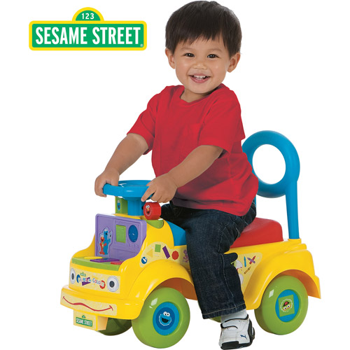 Sesame Street Shapes and Colors Activity Ride-On