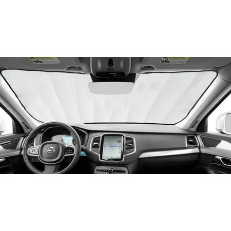 Sunshade for Toyota Prius Prime Plugin Liftback w/o Windshield Sensor 2017 2018 2019 Custom Fit Windshield (Best Delay Plugin 2019)