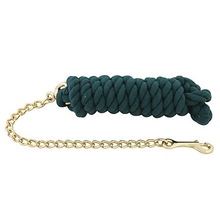 Basic Cotton Lead Rope w/Stud Chain (Lead Rope Knot)