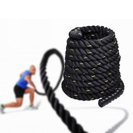 "Ktaxon 1.5/2"" Width 30/40/50ft Length Fitness Battle Rope, for Strength Power Training Undolation Conditioning Exercise Workout - image 5 de 5"
