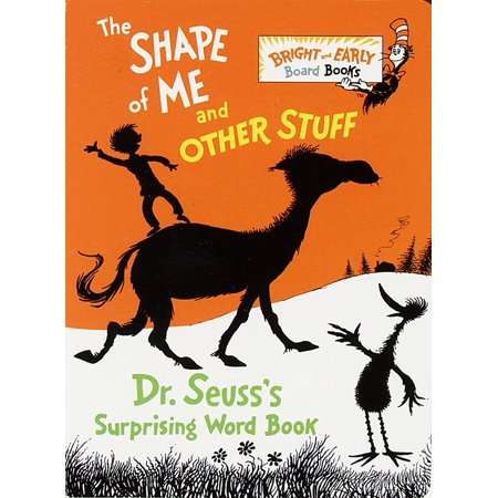 Shape of Me and Other Stuff Dr Seusss su (Board Book)