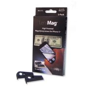 Carson ML-515 HookUpz LensMag iPhone 5/5s Lens Adapters, 2-Pack