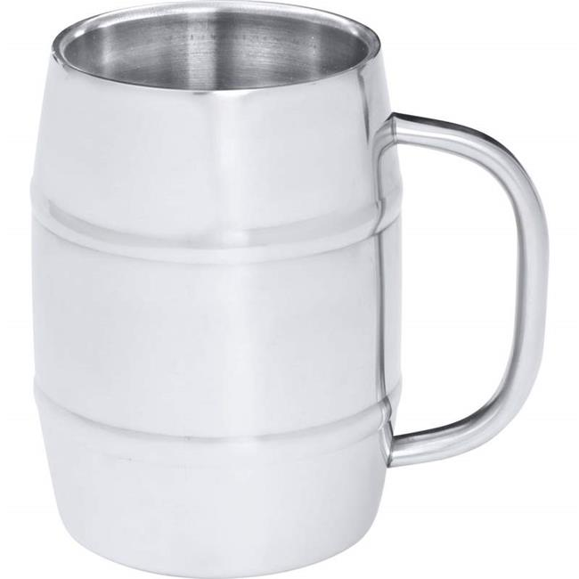 Arctic Blast KTBMUG4 Barrel-shaped Stainless Steel Beer Mug, 34 oz. by Arctic Blast