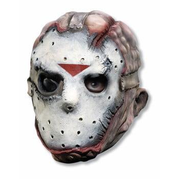 JASON ADULT VINYL MASK (Jason Voorhees Face Mask)