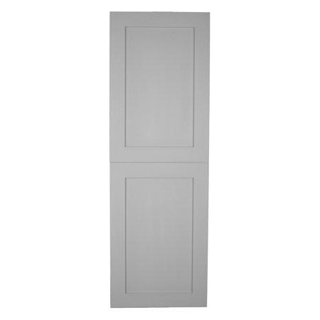 - WG Wood Products Shaker Style 2-Door Frameless Recessed Bathroom Medicine Cabinet