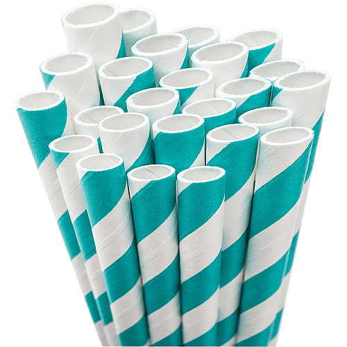 "Jumbo Straw Unwrapped, 7-3/4"", 50/Pkg"
