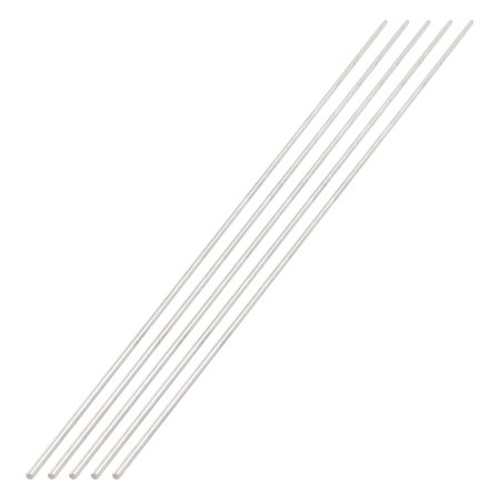 5 Pcs 3mm Diameter 450mm Length Stainless Steel RC Car Gear Axle Rod |  Walmart Canada