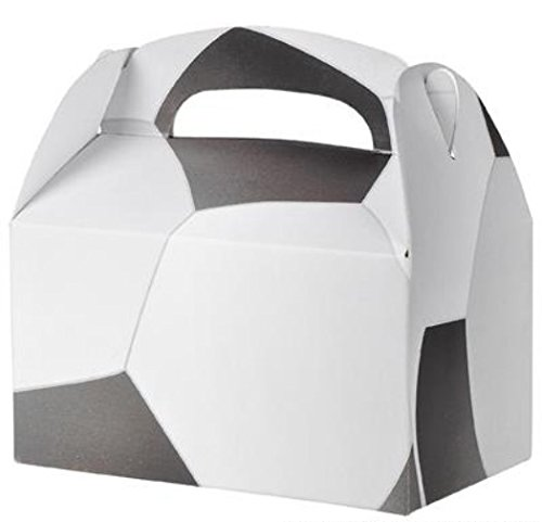 24 SOCCER TREAT BOXES 2 DOZEN BY, 24 SOCCER 2 DOZEN TREAT BOXES By DISCOUNT PARTY AND NOVELTY