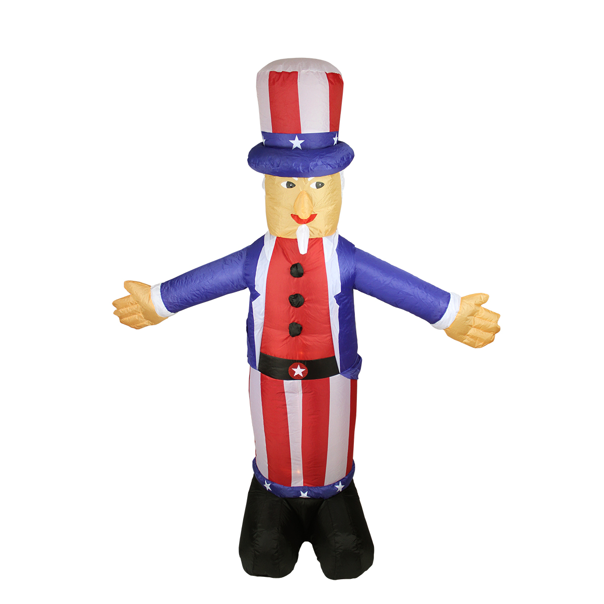 5 Feet Inflatable Uncle Sam Weather-resistant 4th of July Patriotic Decor