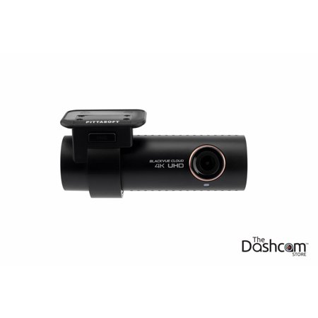 BlackVue DR900S-2CH Dual Lens 4K GPS WiFi Cloud-Capable Dashcam for Front and Rear w/ 64 GB Memory (667 Dual Channel Memory)