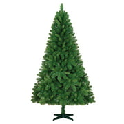 Holiday Time Unlit 6.5' Jackson Spruce Green Artificial Christmas Tree