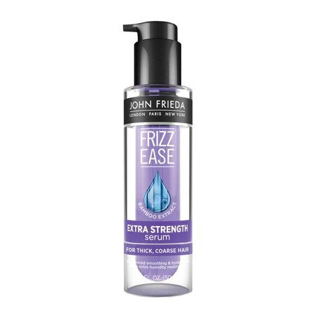 John Frieda Frizz Ease Extra Strength 6 Effects+ Serum, 1.69 (Best Drugstore Anti Frizz Serum)