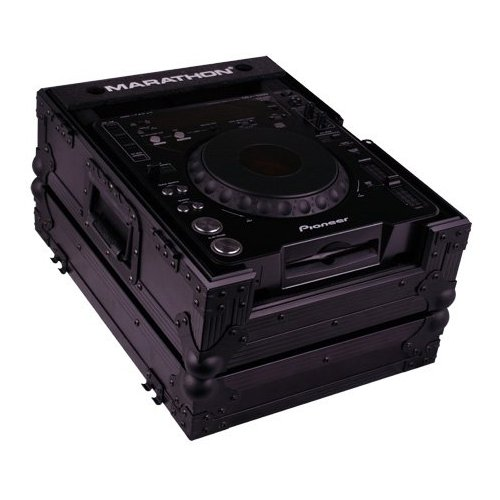 Marathon Ma-cdjblk Lrg Format Cd Player Case (macdjblk)