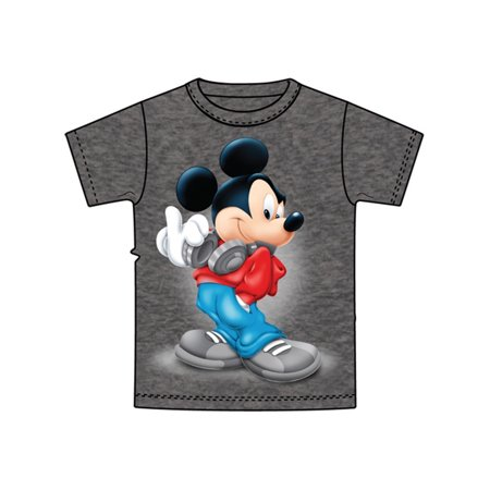 Disney Clearance Merchandise (Disney Youth Mickey Mouse Music - Gray - Large)