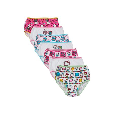 0362f63d1 Hello Kitty - Hello Kitty Underwear Panties, 7-Pack (Toddler Girls) -  Walmart.com