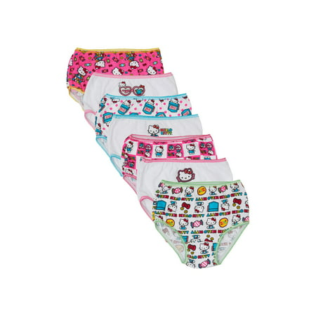 Hello Kitty Underwear Panties, 7-Pack (Toddler Girls)