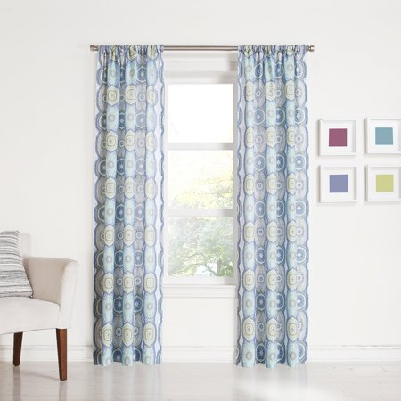 No. 918 Millennial Nila Curtain Panel Print, Lapis