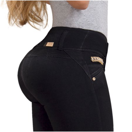 d52eef2f42 Kazzani - Kazzani Women Curvy Skinny Plus Size Jeans | Pantalones  Colombianos Levanta Cola - Walmart.com