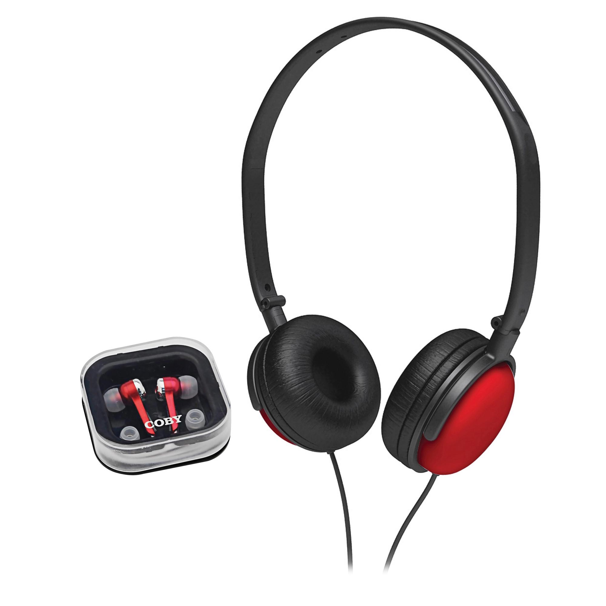 Coby Jammerz Super Bass Headphones W/ Sw