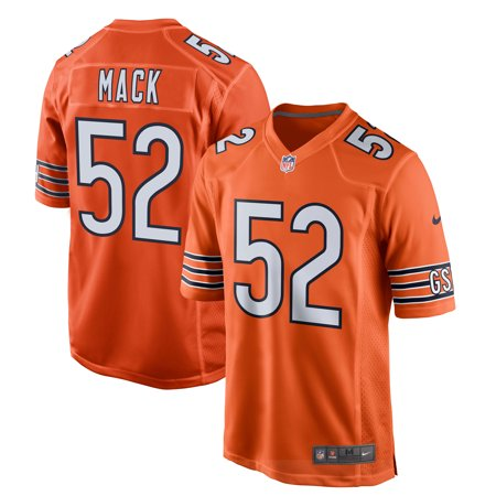Khalil Mack Chicago Bears Nike Game Jersey - Orange 23 Chicago Bears Jersey