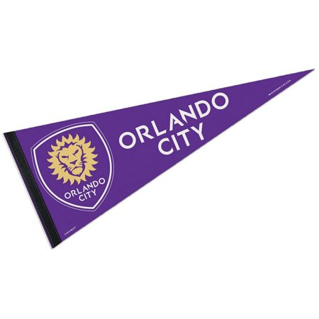 Orlando City SC Felt Wool Blend Pennant - Party City In Orlando Fl