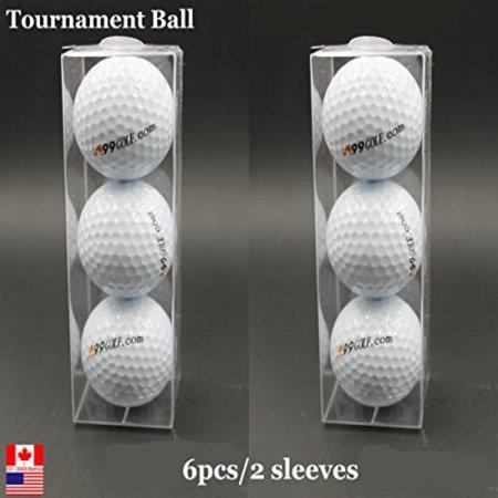 New A99 Golf Tournament Balls 6 Pcs/2 Sleeves for $<!---->