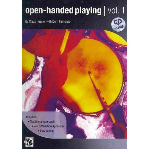 Open-Handed Playing: Traditional Approach, Voice-variation Approach, Play-along Songs