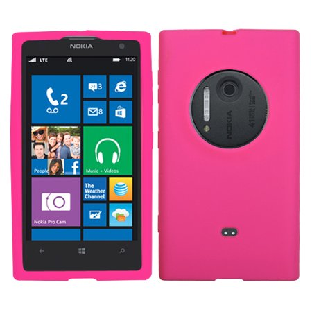 For Lumia 1020 Solid Silicone Skin Protector Cover Case (Hot