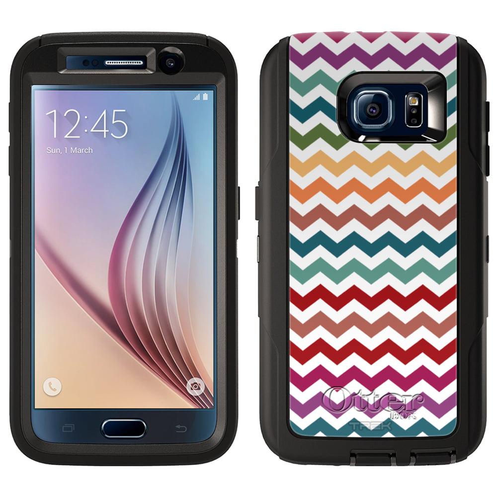 OtterBox Defender Samsung Galaxy S6 Case - Chevron Rainbo...