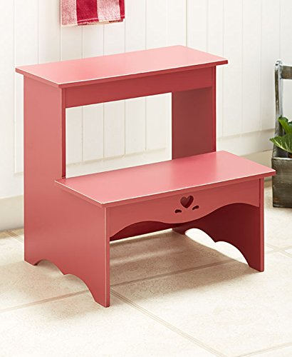 Classic Country Step Stool (Barn Door Red)