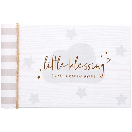 Cr Gibson Little Blessing Baby Brag Book Photo Album 20 Pages