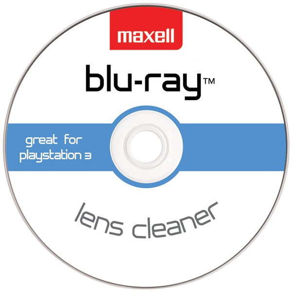 MAXELL 190054 - BR/HD-LC Blu-ray Disc(R) & HD DVD Lens Cleaner