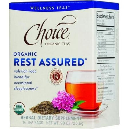 Choice Organic Teas - Thé Assured de repos biologique - 16 Sacs