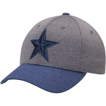 Dallas Cowboys Blue Mountains Adjustable Hat - Heathered Charcoal - OSFA